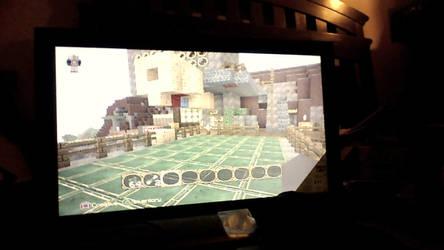 Minecraft snapshot 1 my house!!! :D by Media203