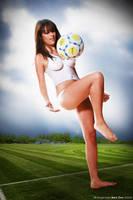 Real Madrid Bodypainting III by Raphael-Ben-Dor
