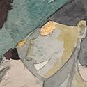 Basé sur la tsumie de Totori  Une aquarelle ! Incroyable.