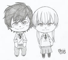 Haru y Shizuku by Bleiy