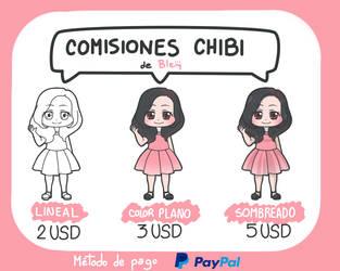 Comisiones chibi ABIERTAS by Bleiy