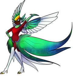 10 Quetzal Woman by icespicespace