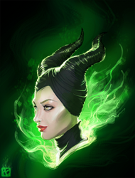Maleficent by RErrede