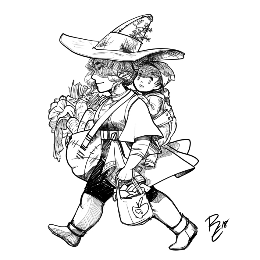 Witchy Travelers - Errands by RErrede