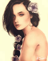 Katniss Everdeen: The Girl on Fire by IsaiahStephens
