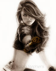 .:Selena Q by IsaiahStephens