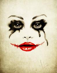 Harley Quinn Sketch by IsaiahStephens