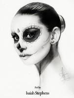 Dias de las muertas Audrey by IsaiahStephens