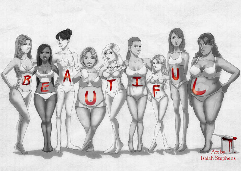 Beautiful Body Types by IsaiahStephens
