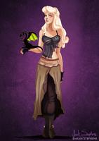 Disney Halloween: Aurora by IsaiahStephens