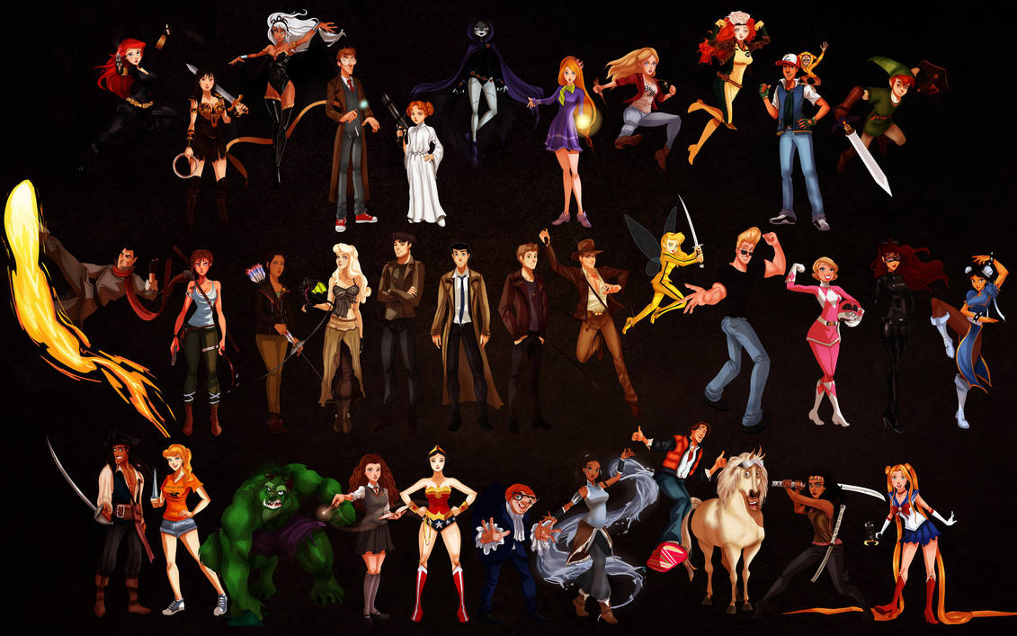 Disney Halloween Wallpaper by IsaiahStephens