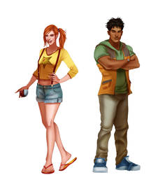 All Grown Up Pokemon Preview: Misty and Brock by IsaiahStephens