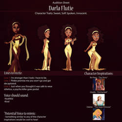 Darla Audition Sheet by IsaiahStephens