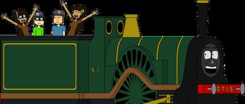 Our biggest friend, Otis the Train by Belinda-Emily-Back