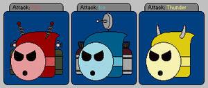 The Robotic Elemental Dragon's heads idea by Belinda-Emily-Back