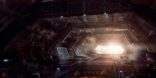 Hangar by TheArtofSaul