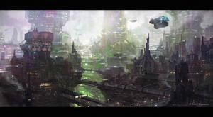 Ridge City by TheArtofSaul