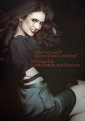 Elena Gilbert Vampire 2 by niaapierce