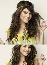 Selena Gomez retouch 2 by niaapierce