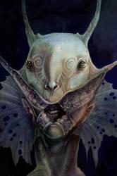 SPLICE- Deep Sea Creature by zirofax