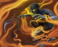 Nightcrawler by zirofax