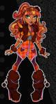 Sassy Squatch- Monster High by zirofax