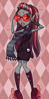 Luna Moth- Monster High by zirofax