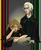 Opposites Attract- H Potter by zirofax
