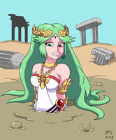Lady Palutena's Ruined Expedition by Hefess