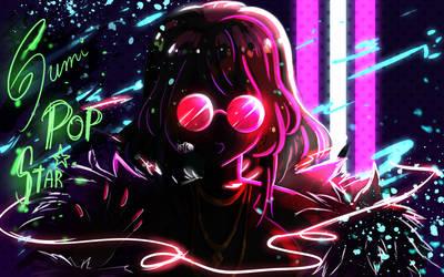 KDA POP STARS_Gumi Megpoid by Meg-chan1391