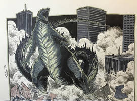 Godzilla by RecsFX