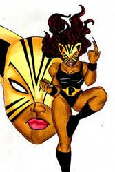 Teen Titans A-Z : Pantha Libre by kidmarvelj