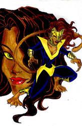 Teen Titans A-Z : Pantha by kidmarvelj
