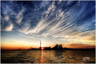 Toronto Skyline by petemc