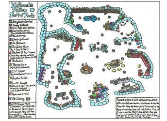 Namesake Pillow Fort O' Feels Map 1.0 by LasselantaNariel