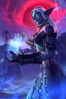 Gravekeeper by mystmantle