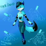 hariboo anthro by thetwinsisters