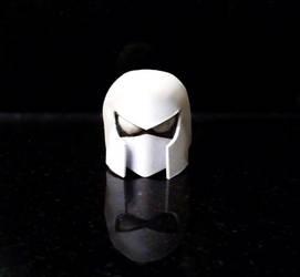 Cyborg Space Barbarian Helmet WIP by BenSpencer