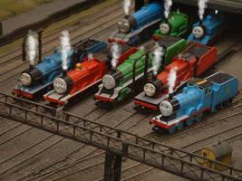 NWR Loco Lineup by GreatEastern1856
