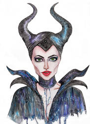 Maleficent by icee-deeyah