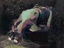 Purple Kiss of Stardust by alterlier