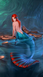Mermaid-betta by Gaomonpentablet