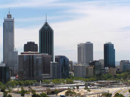 Perth city by AussieSteve-Stocks