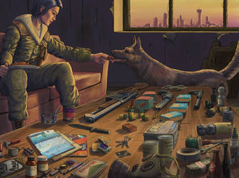 The Wasteland Survival Kit by rustysteel