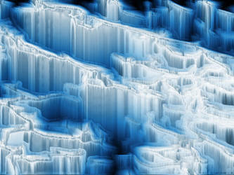 Ice Cave Wallpaper by Infernoflow