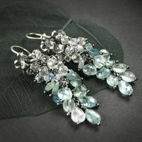 Morning dew - earrings by BartoszCiba