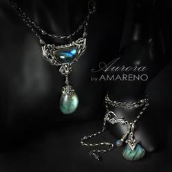Aurora - set 1 by BartoszCiba