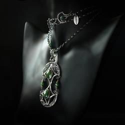 Quetzal - necklace 1 by BartoszCiba