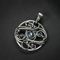 Yema blue - pendant 2 by BartoszCiba