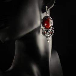 Vesuvio - earrings 1 by BartoszCiba